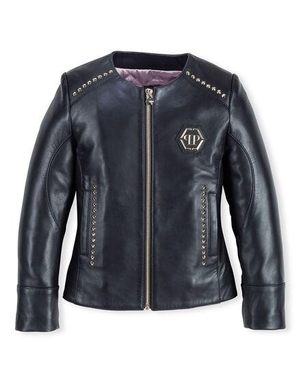 Leather Jacket Bright Sun