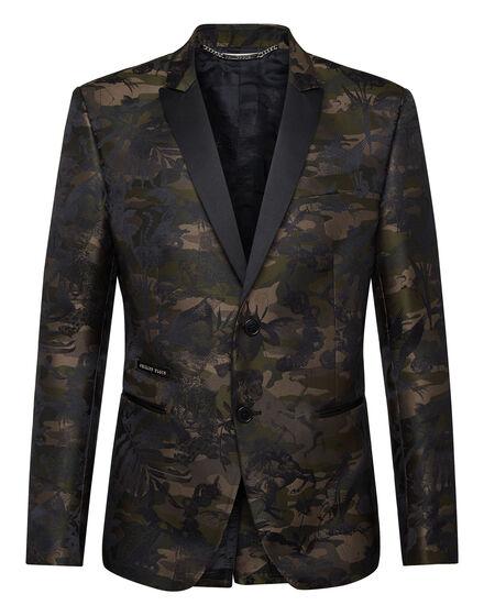 Blazer jacquard Camouflage