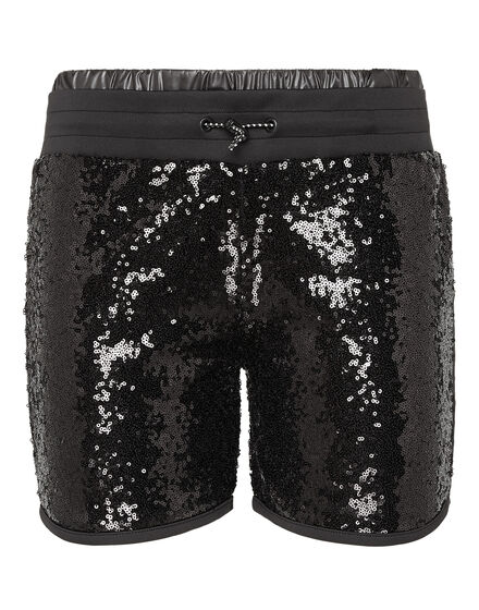 Jogging Shorts XYZ Paillettes