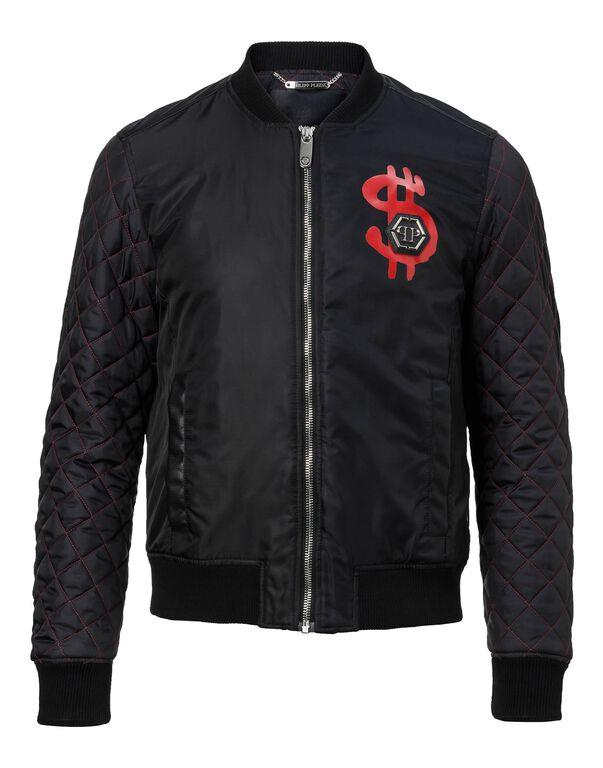 "Nylon Jacket ""Rich people"""