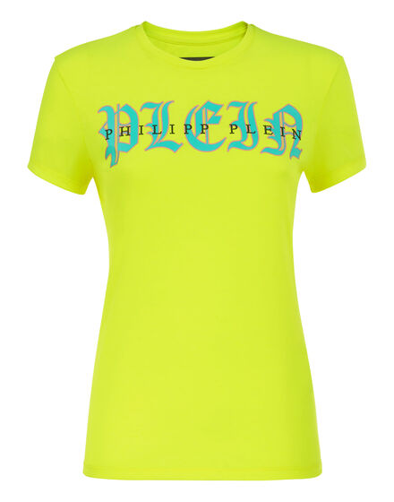 T-shirt Round Neck LS Gothic Plein