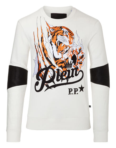 Sweatshirt LS Blood tiger