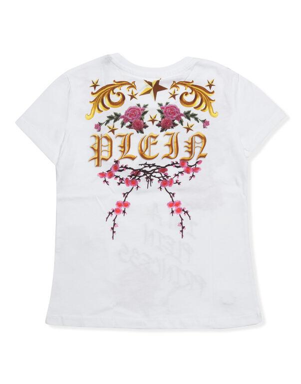 "T-shirt Round Neck SS ""I´m a plein princess"""