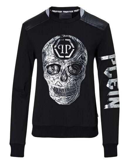 Sweatshirt LS Handmade skull