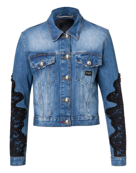 denim jacket never see you again