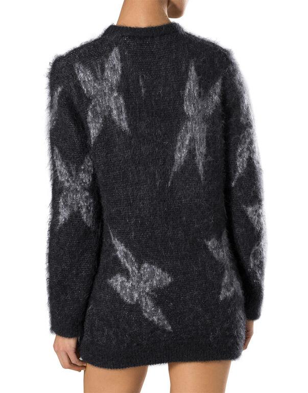 """knit dress """"the scientist"""""""