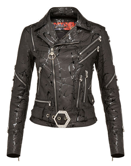 Leather Biker Reach that