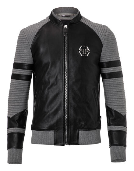 Leather Bomber Gamo