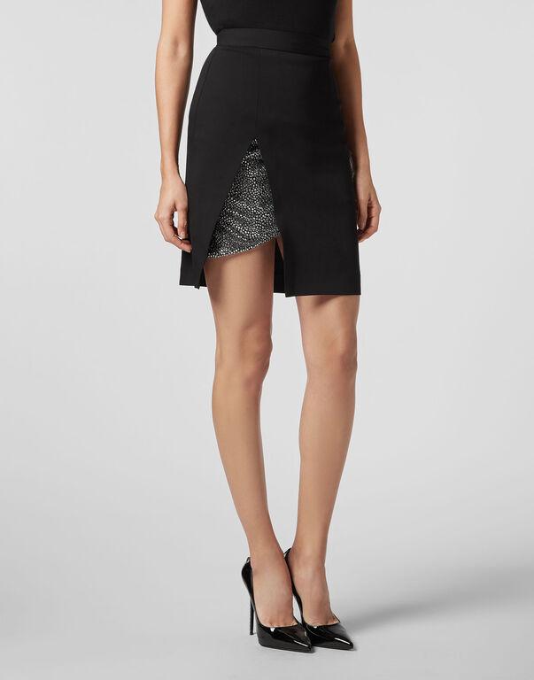 Short Skirt Crystal