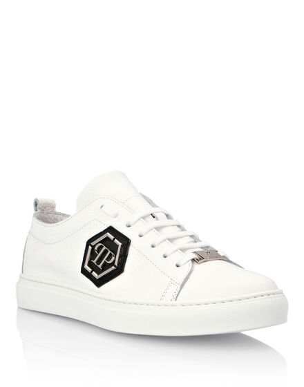 Crocodile Lo-Top Sneakers Hexagon