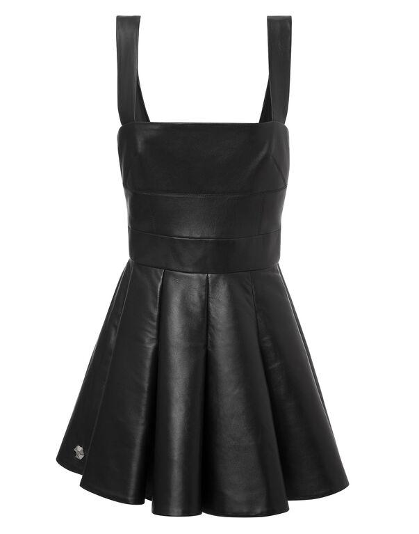 "leather dress ""ennemy"""