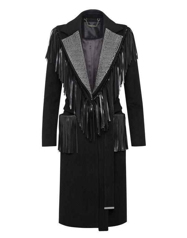 Coat Long Fringe