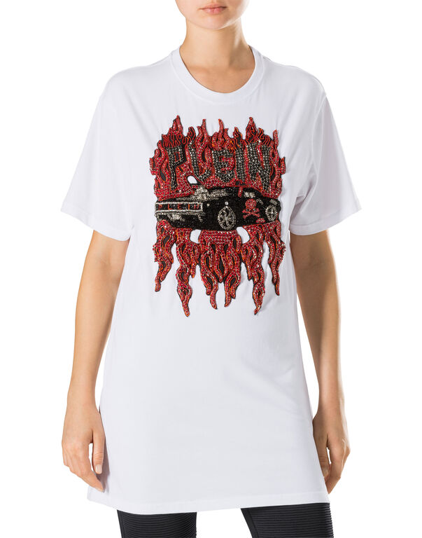 "T-shirt Round Neck SS ""Maghony"""