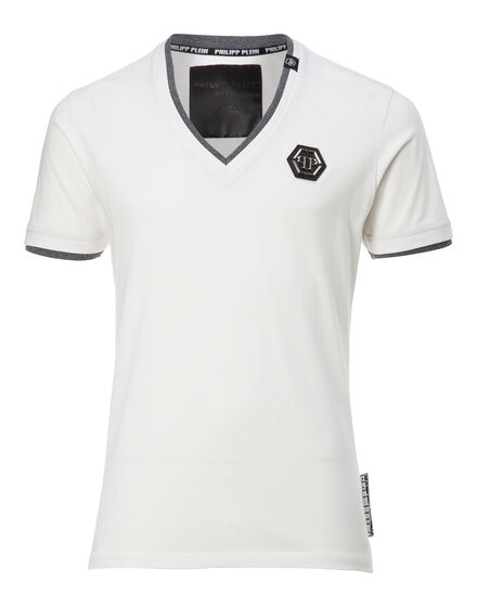 T-shirt V-Neck SS willys