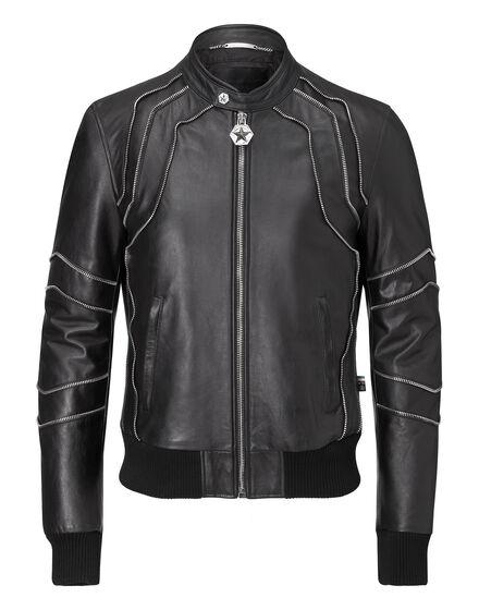 leather jacket karma