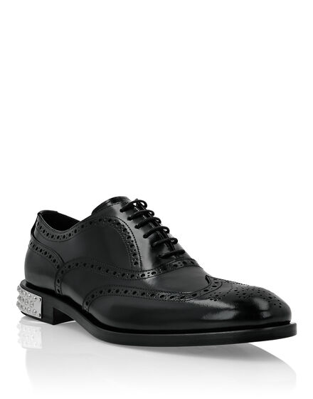 City Shoes in Brushed Leather