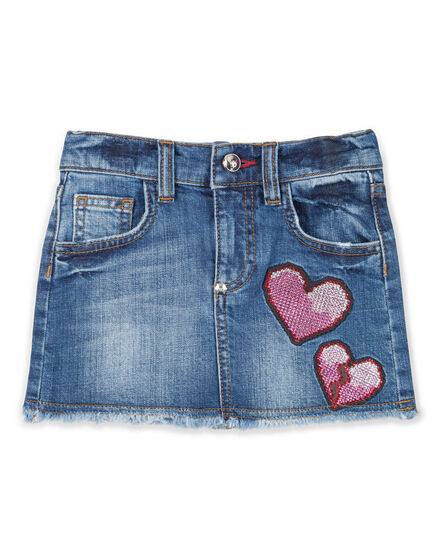 denim skirt show your love