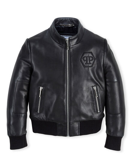 Leather Biker Panters