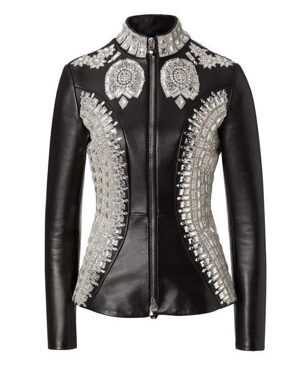 "leather jacket ""vogue"""
