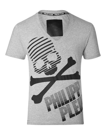 T-shirt V-Neck SS Oho