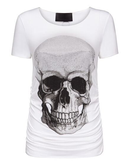 T-shirt Round Neck SS Front skull