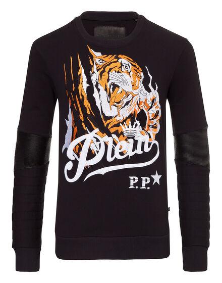 Sweatshirt LS Blood tiger