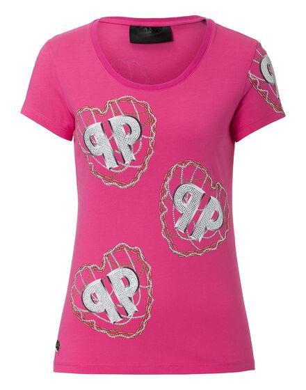 T-shirt Round Neck SS  Violet