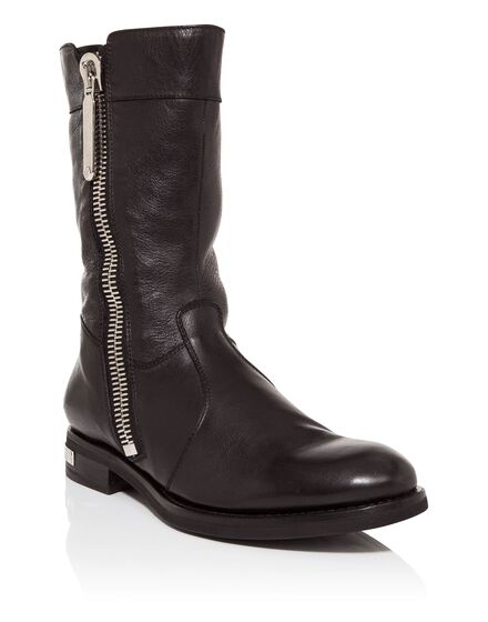 Boots Lo-Heels Low chopard black