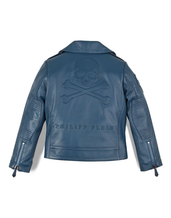 "leather jacket ""baby punk"""