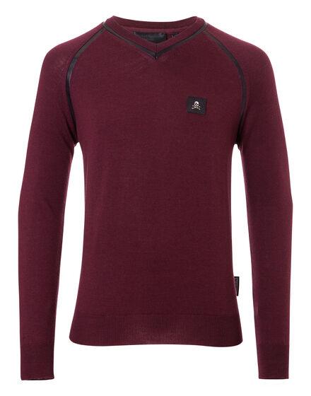 Pullover V-Neck LS Wilde