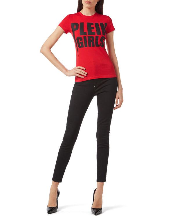 """T-shirt Round Neck SS """"Plein Girls"""""""