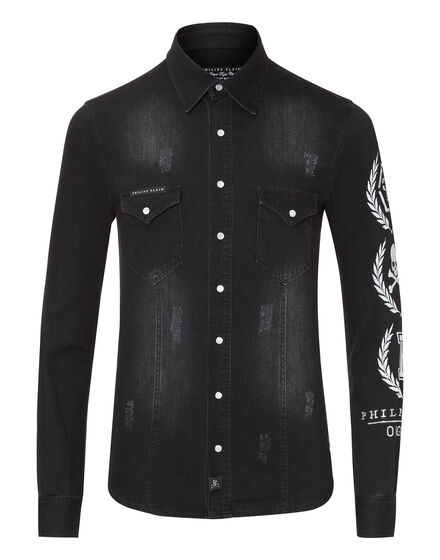 Denim Shirt Ls Cyber