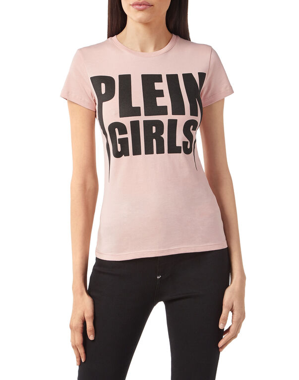 "T-shirt Round Neck SS ""Plein Girls"""