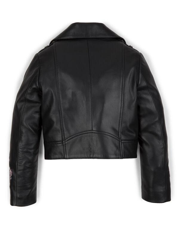 "leather jacket ""merida"""