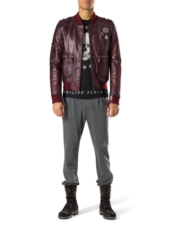 """leather jacket """"insidious"""""""