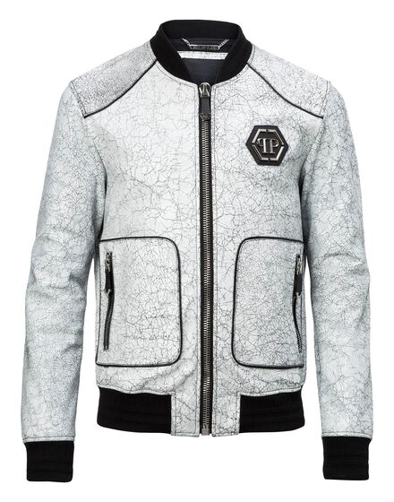 Leather Bomber Ulysse