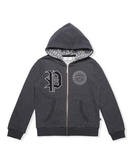 Hoodie Sweatjacket I Like It