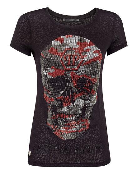 T-shirt Round Neck SS Garcia Mia