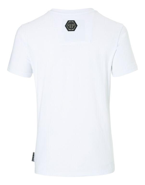 "- T-shirt Round Neck SS ""Monopoli A four """