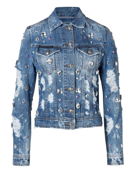 Denim Jacket Happy Blue