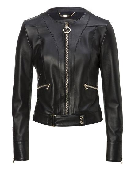 Leather Jacket Bogardus Place