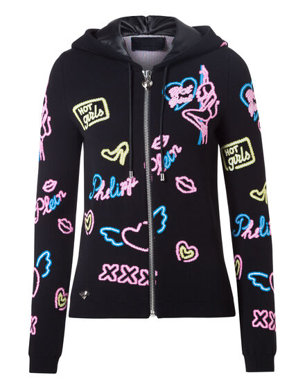 Knit Jacket Neon