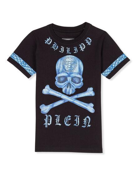T-shirt Round Neck SS Make heart beat