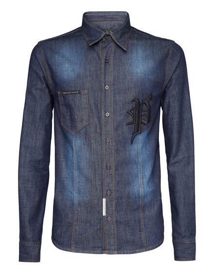 Denim Shirt Ls Gothic P