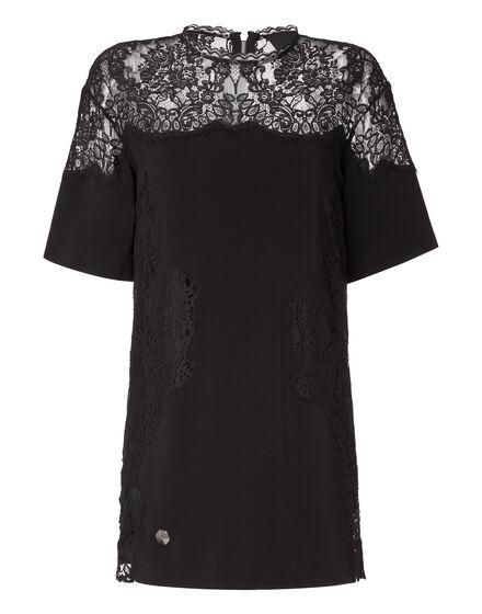 t-shirt dress aster