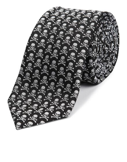 Thick Tie mini skull