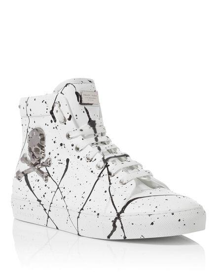 Hi-Top Sneakers the wave