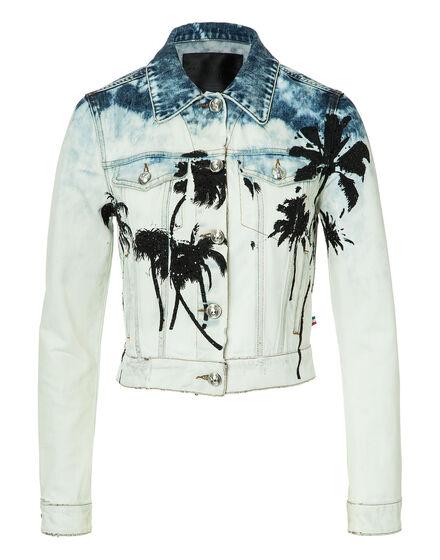Denim Jacket Palms