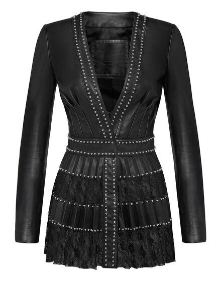 Leather Jacket Lace