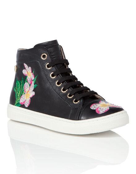Hi-Top Sneakers Cleome